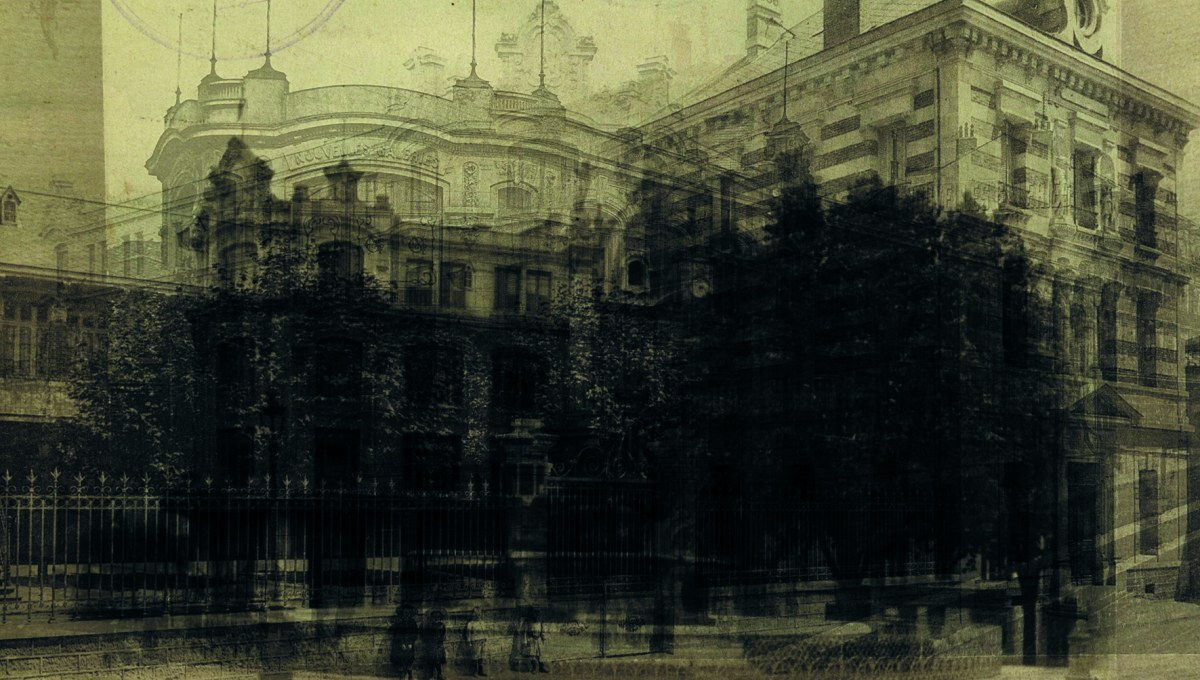 Montage photos des archives de la ville de Valence © Silvia Costa