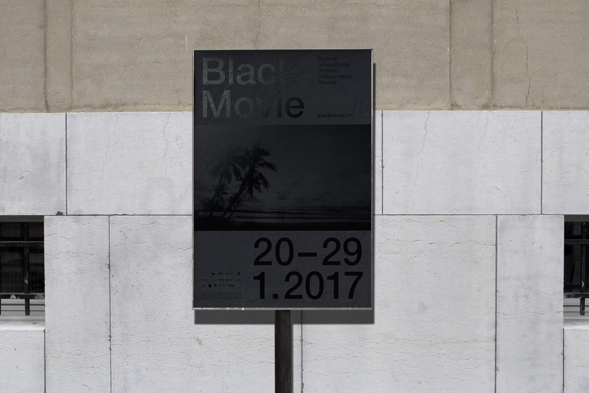 BLACK MOVIE 2017 – Affiche