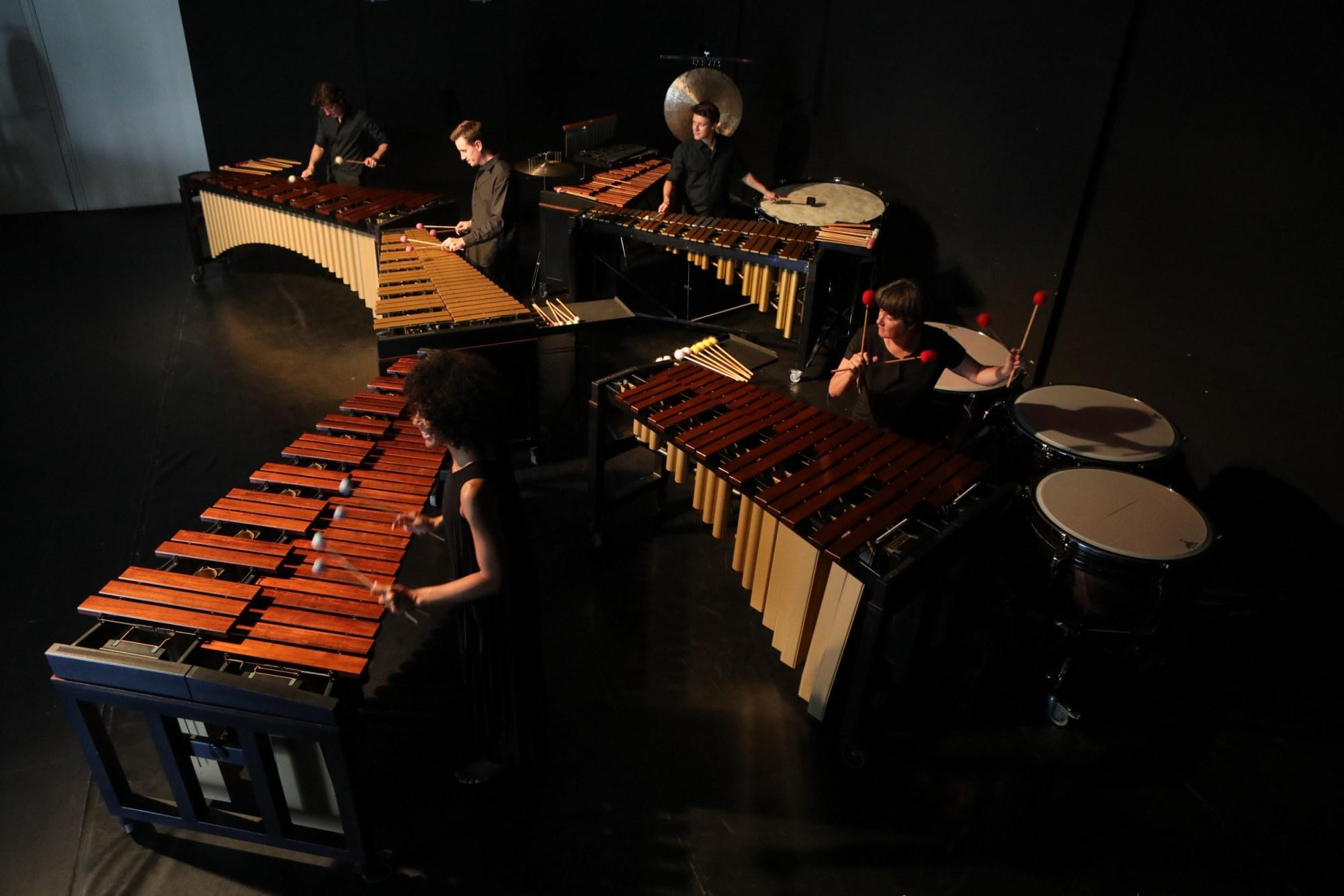 Les Percussions Claviers de Lyon © Cédric Rouillat