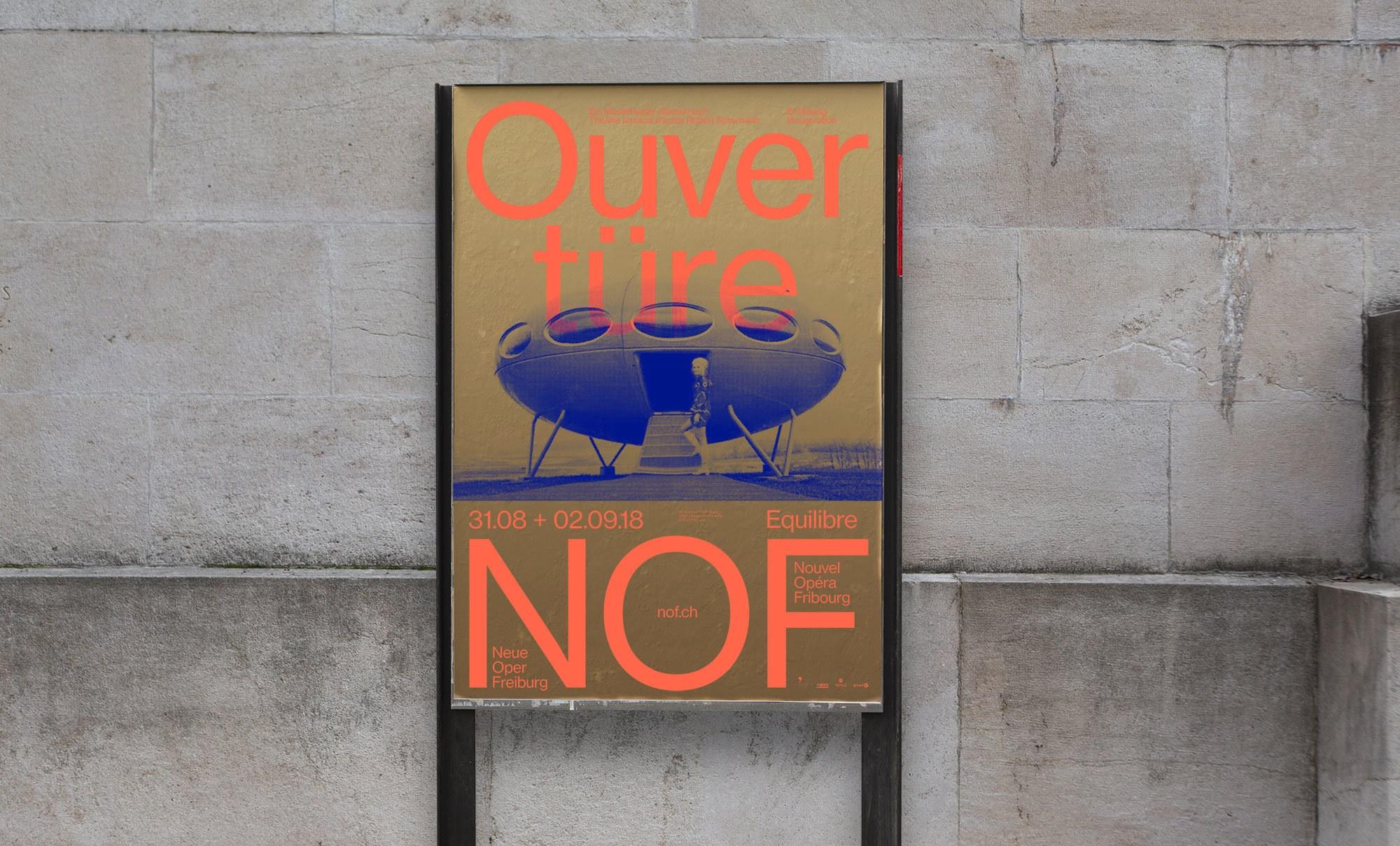 NEUE OPER FREIBURG – Affiche